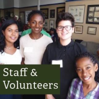 Staff and Volunteers Link