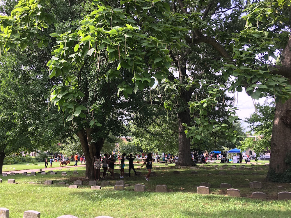 Festival day at Historic Fair Hill