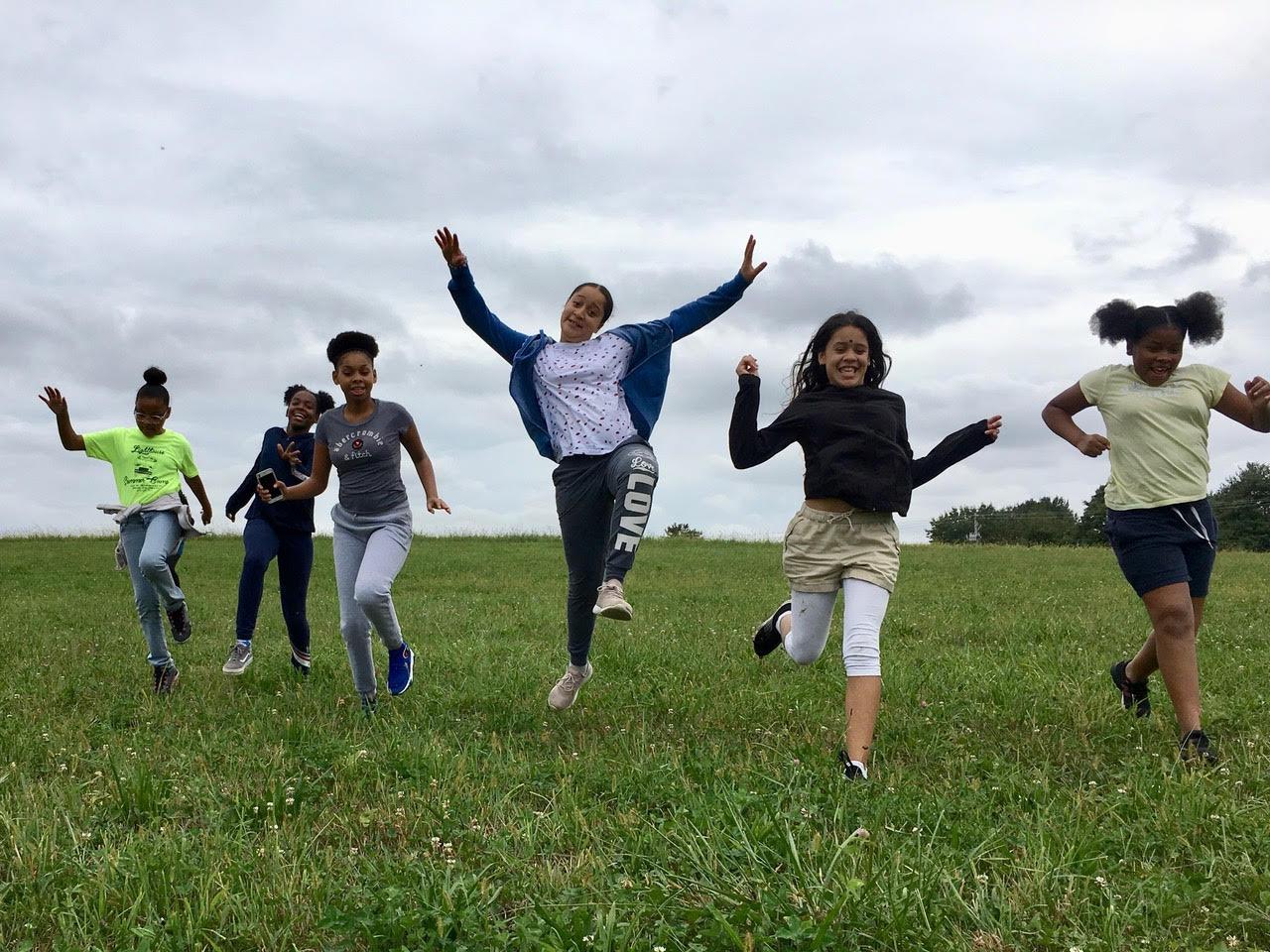 Youth Farm Interns: Anitza, Ajize, Lamaya, Lianna, Vivian, Mahogany