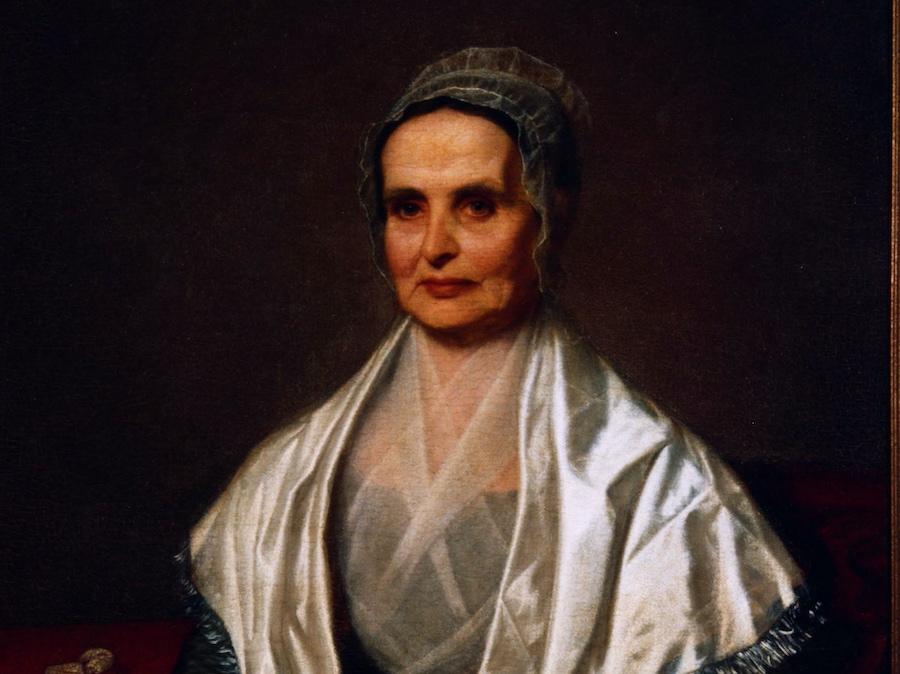 Portrait of Lucretia Mott